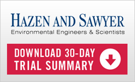 Hazen and Sawyer Environmental Engineers button